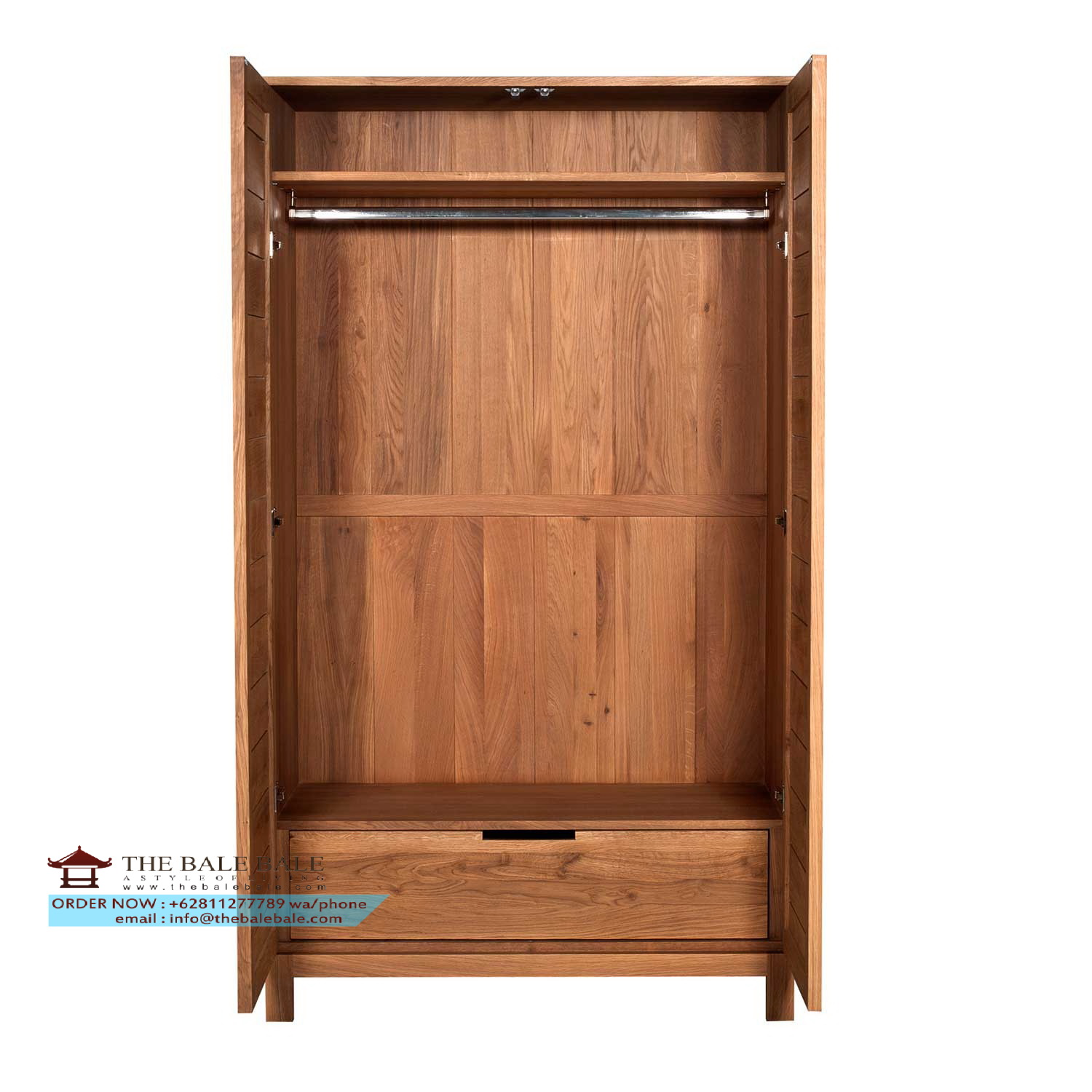 oak-azur-bedroom-wardrobe-open