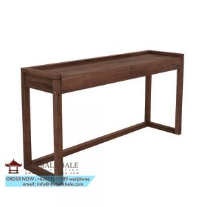 Frame PC console, 2 drawers,,