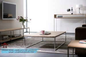 Thin coffee table,