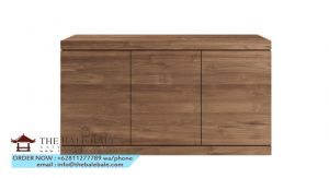 Teak Burger sideboard - 3 doors_closed