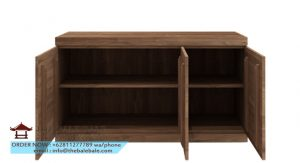 Teak Burger sideboard - 3 doors_open
